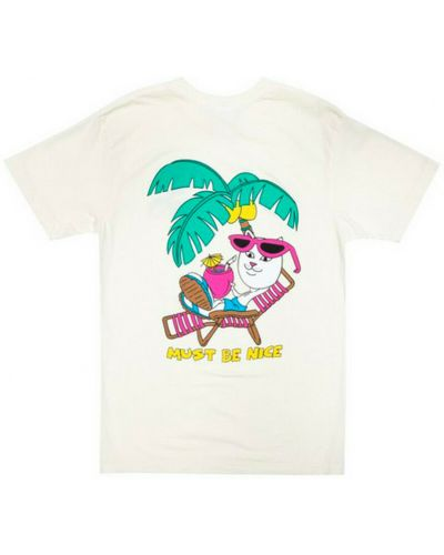 Beżowa t-shirt Ripndip