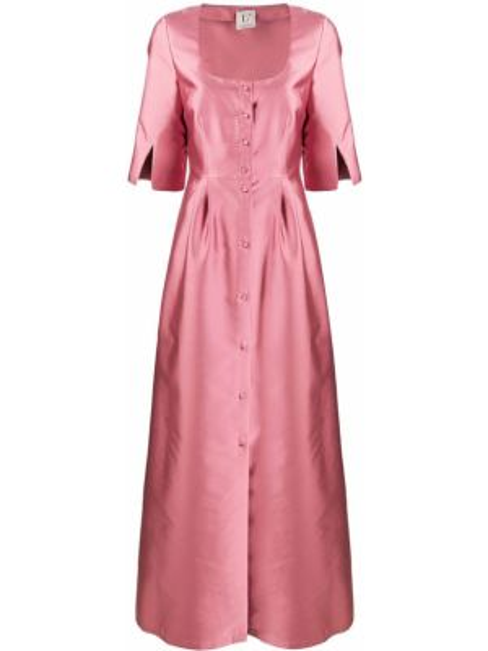 Платье розовое на пуговицах Lautre Chose