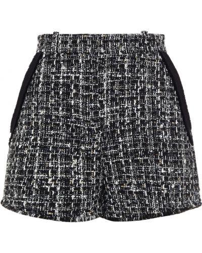 Черные французские шорты Maje