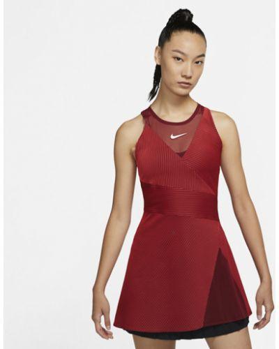 Трикотажное платье - красное Nike