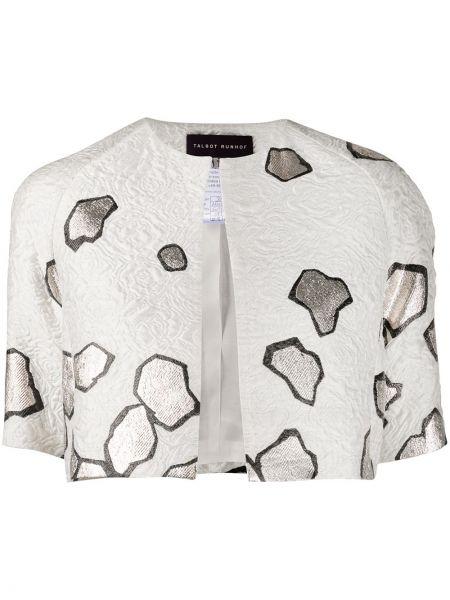 Пиджак короткий - белый Talbot Runhof