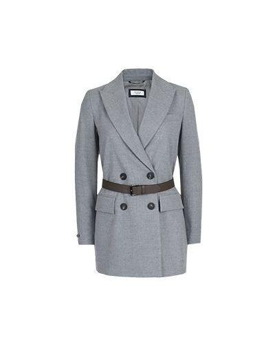 Серый пиджак Peserico