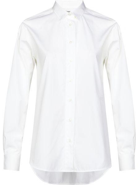 Хлопковая рубашка - белая Toteme