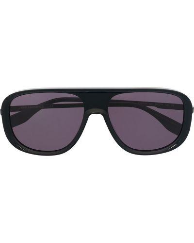 Czarne okulary miejskie Karl Lagerfeld