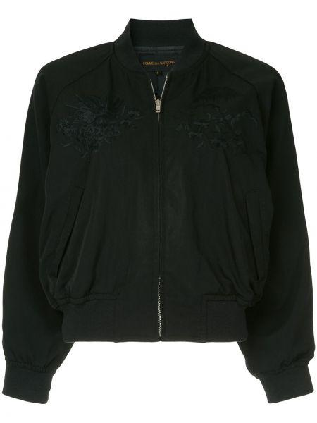 Черная куртка на молнии винтажная Comme Des Garçons Pre-owned