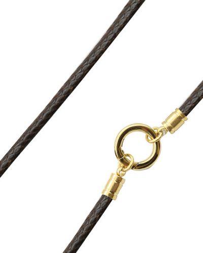Цепочка из золота позолоченная Swanky