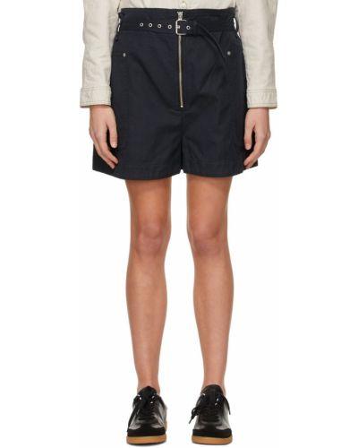 Черные шорты с карманами Isabel Marant étoile