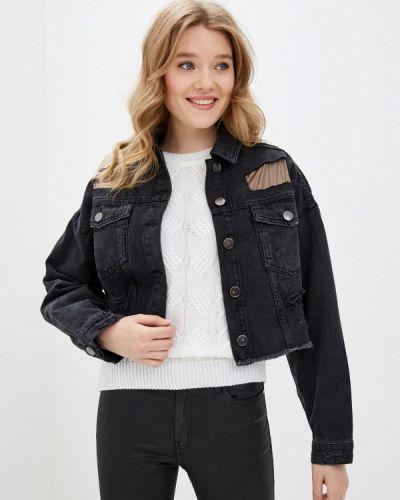 Черная джинсовая куртка Dali