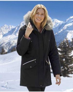 Куртка с капюшоном утепленная черная Atlas For Men
