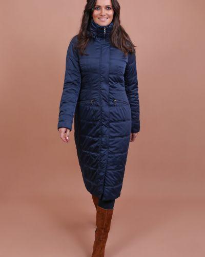 Приталенное пальто с капюшоном с воротником J-splash