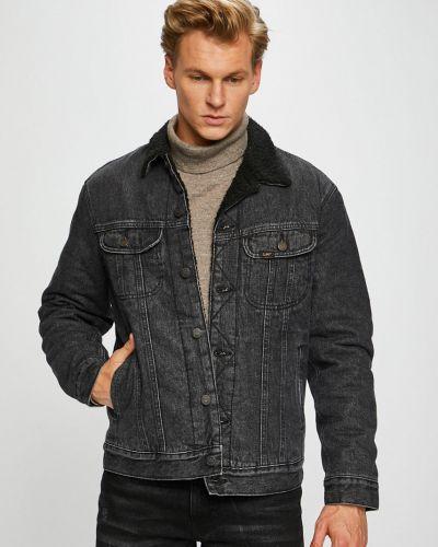 Джинсовая куртка утепленная укороченная Lee