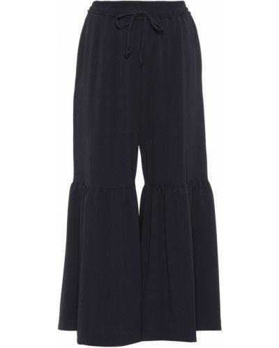 Укороченные брюки расклешенные свободные See By Chloé