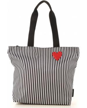 Czarna torebka Lulu Guinness