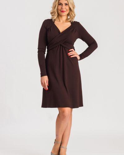 Повседневное платье с длинными рукавами трикотажное Lacywear