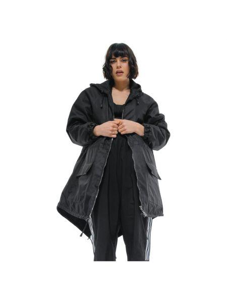 Czarna kurtka z kapturem Rest Factory