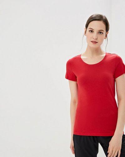 Спортивная футболка красный Reebok