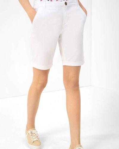 Białe spodnie bawełniane Orsay