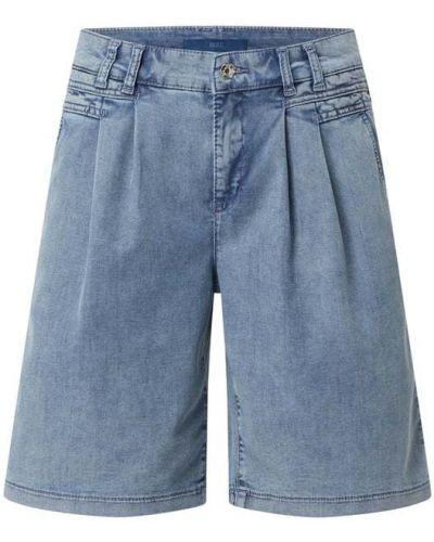 Szorty jeansowe - niebieskie Mac