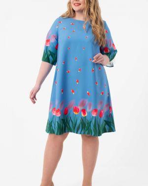 Летнее платье платье-сарафан из вискозы Wisell