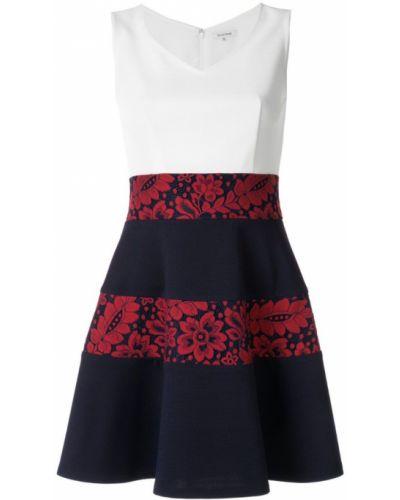 Платье с V-образным вырезом расклешенное Guild Prime