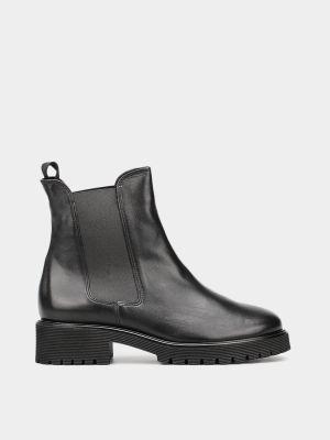 Ботинки челси - черные Hogl