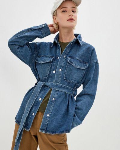 Синяя джинсовая рубашка Noisy May