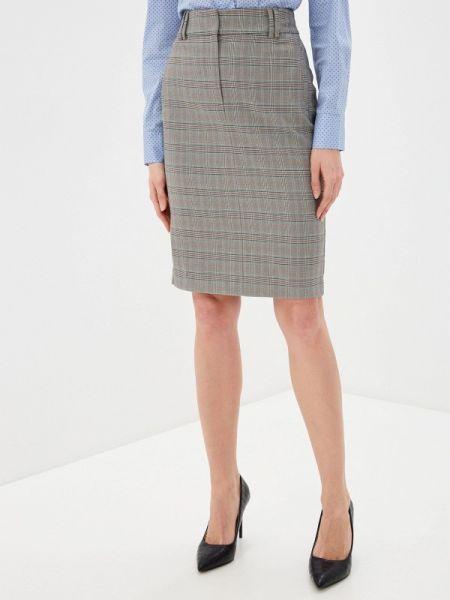 Серая юбка карандаш с рукавом 3/4 Marks & Spencer
