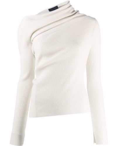 Шерстяной свитер - белый Eudon Choi