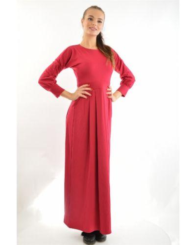 Платье из вискозы - красное Fabien De Ferante