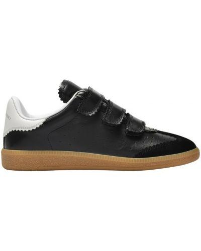 Czarne sneakersy Isabel Marant