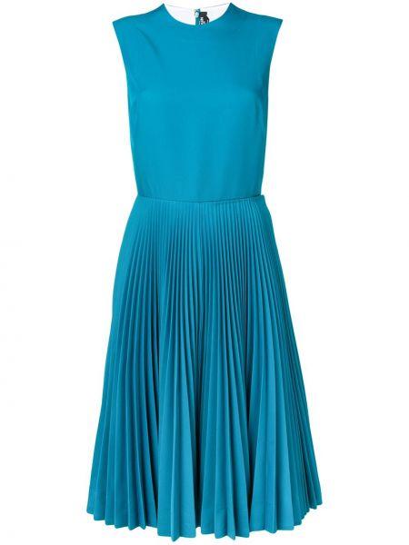 Niebieska sukienka bez rękawów bawełniana Calvin Klein 205w39nyc