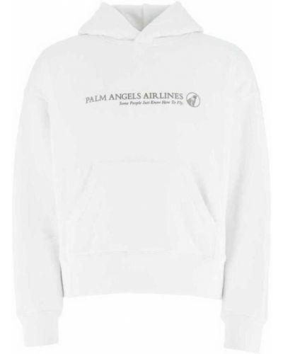 Bluza oversize - biała Palm Angels