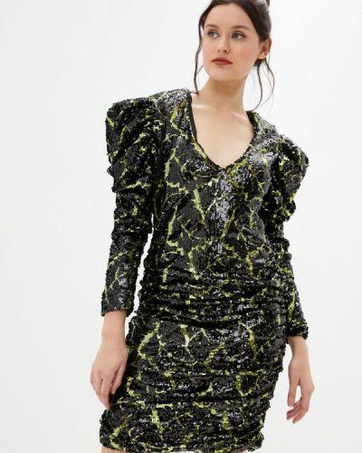 Черное вечернее платье Silvian Heach