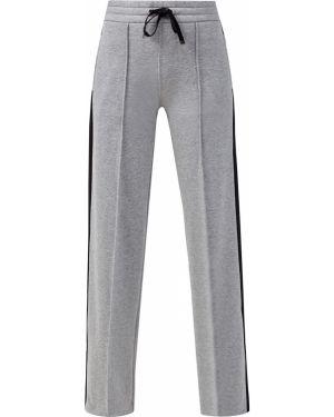 Спортивные брюки со стрелками с лампасами Moncler