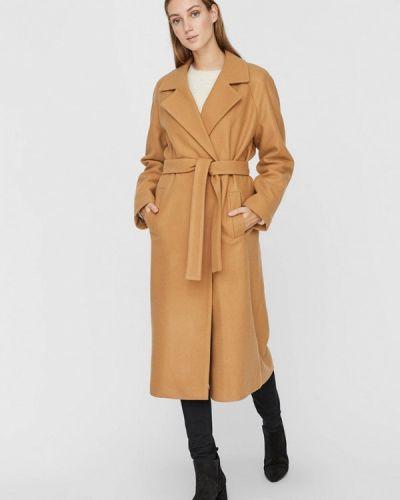 Бежевое пальто Vero Moda