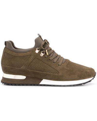Кроссовки с логотипом на шнуровке Mallet Footwear
