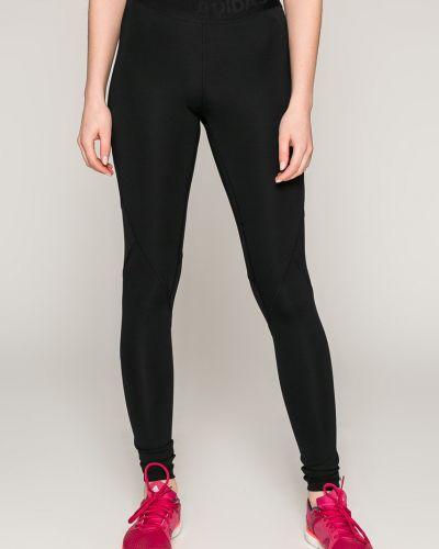 Черные брюки на резинке Adidas Performance