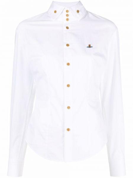 Белая рубашка с воротником Vivienne Westwood