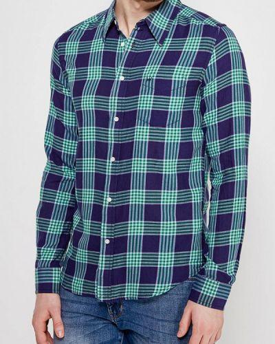 Синяя рубашка Wrangler