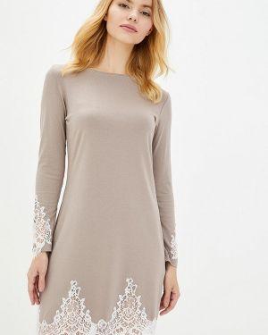 Платье - серое Komilfo