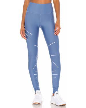 Sportowe spodnie z wysokim stanem elastyczne Alo