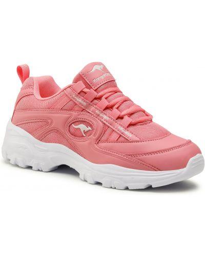 Różowe sneakersy Kangaroos