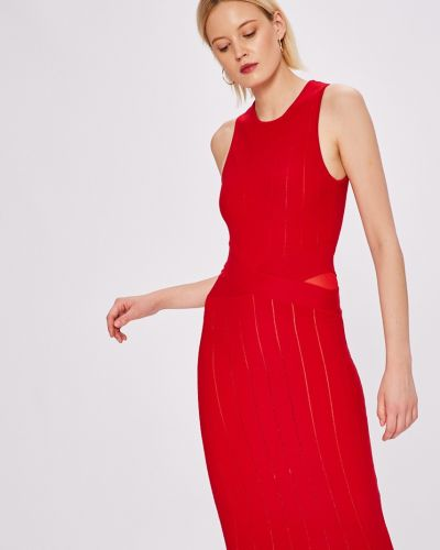 Платье мини облегающее сетчатое Silvian Heach
