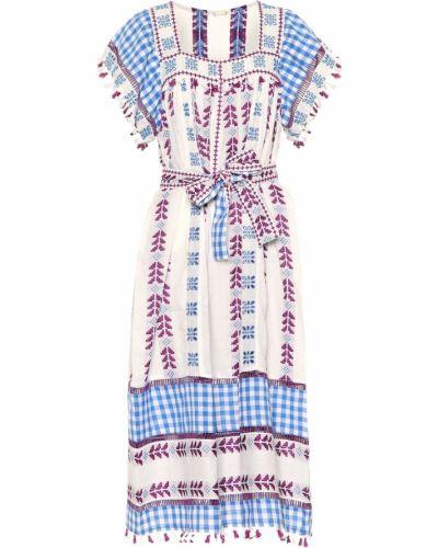 Платье с вышивкой с кисточками Dodo Bar Or