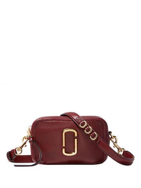 Кожаная сумка через плечо - красная Marc Jacobs