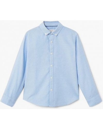 Синяя рубашка Mango Kids