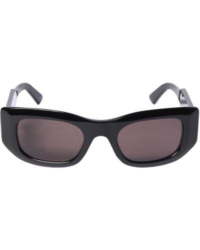 Черные солнцезащитные очки прямоугольные Balenciaga