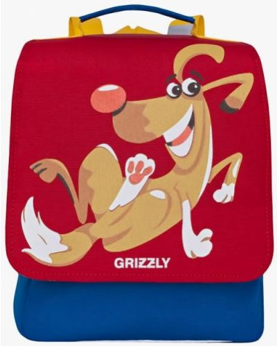Рюкзак красный Grizzly