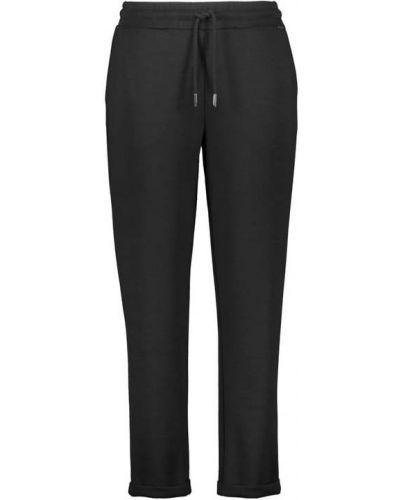 Czarne spodnie sportowe Samoon