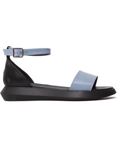 Кожаные сандалии - черные Zemira
